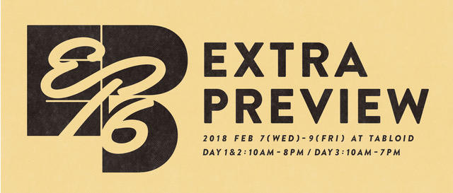 EXTRA PREVIEW #16 出展のお知らせ